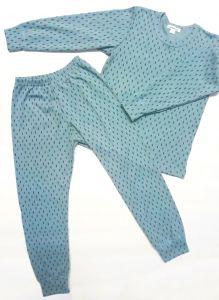 Шерстяная трикотажная пижама, 1111-G Mokkibym