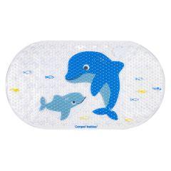 """Дитячий коврик для ванної кімнати """"Дельфін"""" 69*38, Canpol Babies 80/001"""