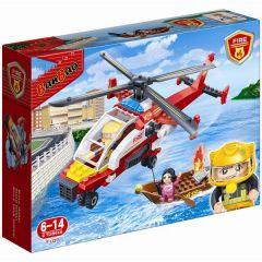 """Конструктор """"Пожежники/вертоліт і човен"""", Banbao 7107"""