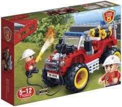 """Конструктор """"Пожежники/пожежний джип"""", Banbao 7106"""