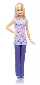 """Лялька Barbie Медсестра, з серії """"Я можу бути"""", DVF50 / DVF57"""