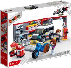 """Конструктор """"Швидкісні гонки/Автосервіс"""", Banbao 8630"""