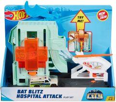 "Ігровий набір ""City Bat Blitz Hospital Attack"", Hot Wheels FNB05/GJK90"