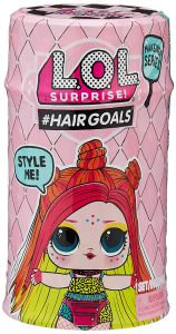 Ігровий набір з лялькою L.O.L. серії Hairgoals - МОДНЕ ПЕРЕВТІЛЕННЯ, L.O.L. SURPRISE 557067/557067X1