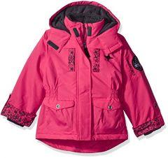 Куртка на флісі для дівчинки
