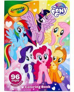"""Розмальовка з наклейками """"My Little Pony"""" 96 стор., Crayola 04-2644"""