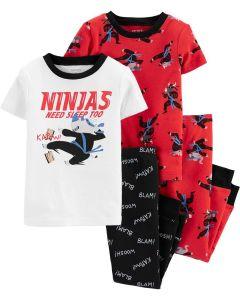Піжама для хлопчика 1шт. (червона футболка та штани)
