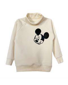 """Світшот з коміром-гольф """"Mickey Mouse"""" і з начосом всередині, 8829"""