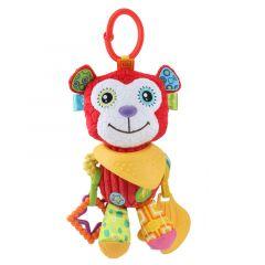 """М'яка іграшка з прорізувачем мавпочка """"Матео"""" Balibazoo 83269"""