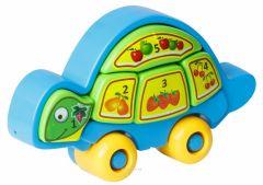 """Іграшка розвиваюча """"Черепаха-Розумаха"""" 8 ел., Tigres 39201"""