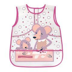 Фартух-слинявчик дитячий BabyOno 840 (рожевий)
