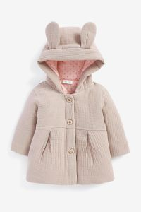 Бавовняна куртка для дівчинки