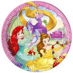 Паперові тарілки Disney Princess/ Принцеси Дісней 23 см  (8 шт), 86677