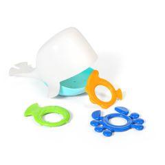 Іграшка для ванни WHALE KIPER (біла), BabyOno 883