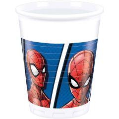 Паперові стаканчики Spiderman /Людина павук 200 мл (8 шт), 89447