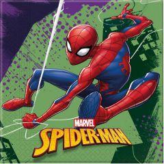 Паперові серветки Spiderman /Людина павук  (20  шт), 89448