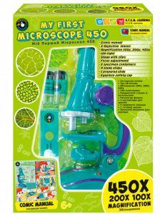 """Набір """"Мій перший мікроскоп"""", Science Agents 44011"""