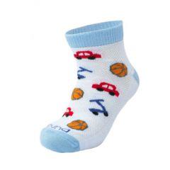 Трикотажні шкарпетки для дитини (білі), Duna, 9066