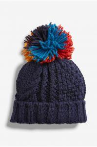 Тепла шапка з флісовою підкладкою