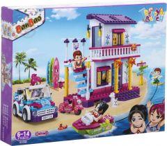 """Конструктор """"Модний пляж/Вілла на пляжі"""", Banbao 6125"""