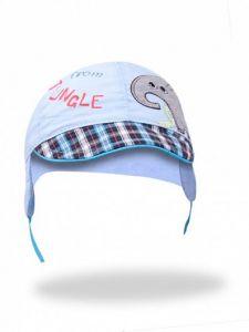 Літня кепка для хлопчика (блакитна), YoClub CLU-083
