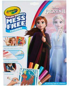 "Розмальовка з чарівними фломастерами (18 cтор.) ""Frozen"", Crayola 75-7002"