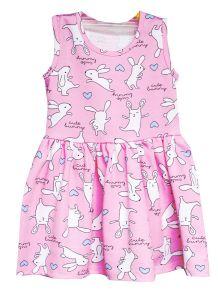 Трикотажне плаття  для дівчинки, 8642