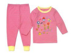 Трикотажна піжама для дівчинки, 10602