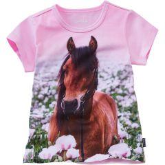 Трикотажна футболка для дівчинки, 9695