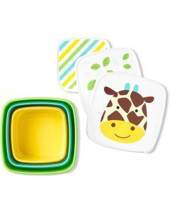 """Набір пластикових контейнерів """"Жирафа"""", Skip Hop 9H776510"""