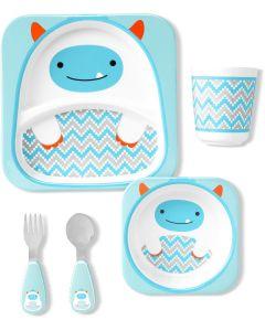 """Подарунковий набір дитячого посуду """"Єті"""", Skip Hop 9I414610"""
