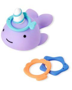"""Іграшка для ванної """"Нарвал. Кидання кільця"""", Skip Hop 9K160710"""