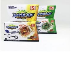 Дзига Beyblade, серія Star Dash Set (Е), з пусковим пристроєм (жовта)