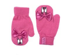 """Теплі рукавиці """"Minnie Mouse"""" (рожеві), DIS MF 52 42 7790"""