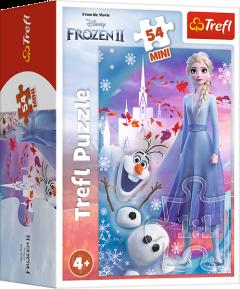 "Міні пазли ""Frozen. ""Ельза та Олаф"", 54 ел.,Trefl 19640"