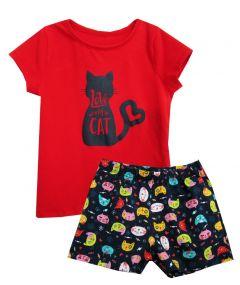 Пижама для девочки 7770
