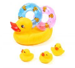 """Іграшки для купання """"Каченя-рятівник"""", Lindo P 261"""