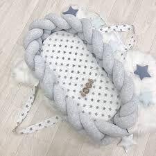 Кокон-бортик-коса Маленька Соня 910052 (сірий)