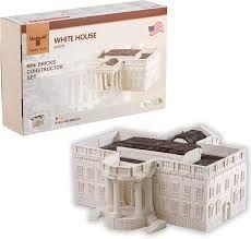 """Конструктор з міні-цеглинок """"Білий дім"""", Wise Elk 70507"""
