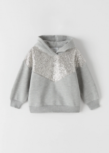 Красиве худі для дівчинки від Zara