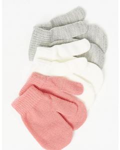Набір рукавичок для дівчинки 3 шт.