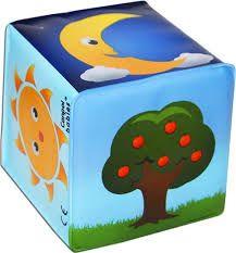 М'який кубик-брязкальце, Canpol babies 2/706 (природа)