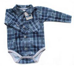 Котонова боді-сорочка для хлопчика, Bs 190105 BODIK