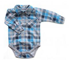 Котонова боді-сорочка для хлопчика, Bs 190101 BODIK