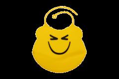 Слинявчик дитячий, силіконовий з кишенею Lindo Ф 933