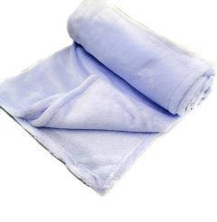 М'який плюшевий плед (голубий), Flavien 3026/03