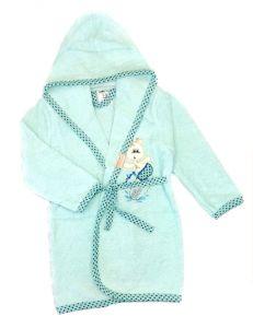 Махровий халат для дитини (ментоловий), 451 Ramel Kids