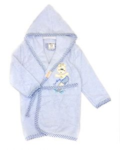Махровий халат для дитини (блакитний), 451 Ramel Kids