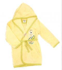 Махровий халат для дитини (жовтий), 451 Ramel Kids