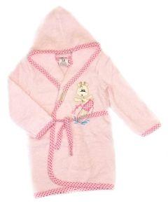 Махровий халат для дівчинки (рожевий), 451 Ramel Kids